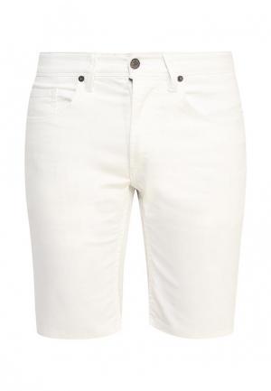 Шорты джинсовые Solid. Цвет: белый