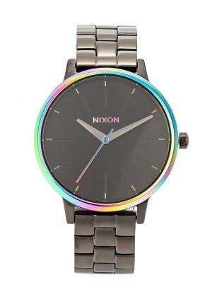 Часы Nixon. Цвет: серый