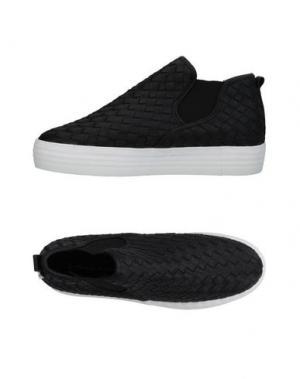 Высокие кеды и кроссовки MANILA GRACE. Цвет: черный
