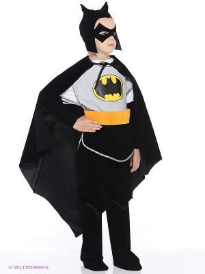Карнавальный костюм Батик. Цвет: черный