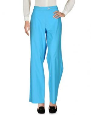 Повседневные брюки LAURÈL. Цвет: лазурный