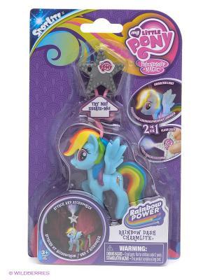 Игрушка Мой маленький Пони Hasbro. Цвет: фиолетовый, голубой