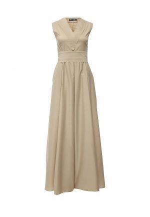 Платье Love & Light. Цвет: бежевый