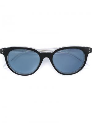 Солнцезащитные очки Riviera 44RU Retrosuperfuture. Цвет: чёрный