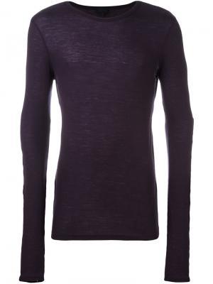 Вязаный свитер Lanvin. Цвет: розовый и фиолетовый