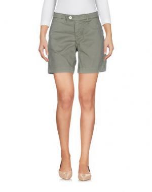 Повседневные шорты OAKS. Цвет: зеленый-милитари