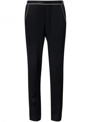 Пижамные брюки Fleur Du Mal. Цвет: чёрный