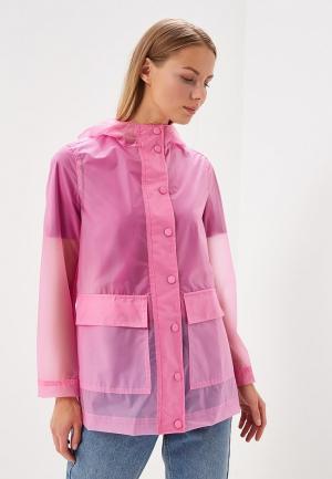 Плащ United Colors of Benetton. Цвет: розовый