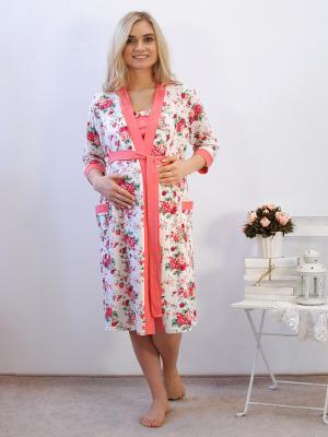 Комплект одежды Адель. Цвет: персиковый
