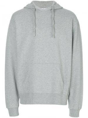 Classic hoodie Closed. Цвет: серый