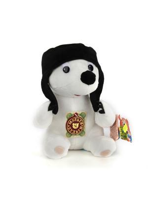 Мягкая игрушка Мульти-Пульти Умка, озвученная русский чип 20см. Цвет: белый, черный