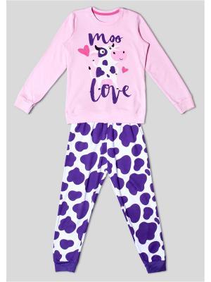 Пижама Extreme Intimo. Цвет: розовый