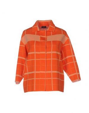 Кардиган NEERA. Цвет: оранжевый