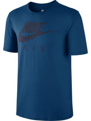 Футболка M NSW TEE TB AIR HD LOGO Nike. Цвет: синий