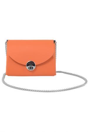 Сумка ALMINI MILANO. Цвет: оранжевый