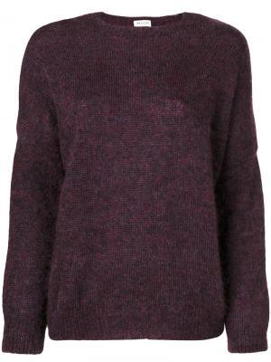 Джемпер с круглым вырезом Masscob. Цвет: розовый и фиолетовый