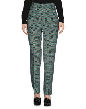 Повседневные брюки DIXIE. Цвет: зеленый