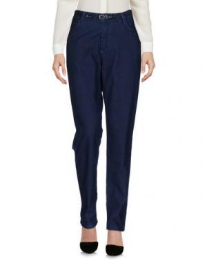 Повседневные брюки BELLEROSE. Цвет: синий