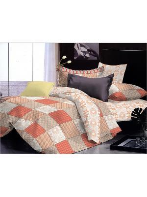 Комплект постельного белья 1.5 сп. Dream time. Цвет: оранжевый