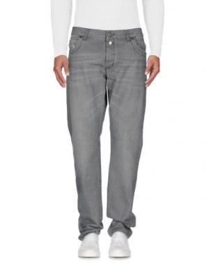 Джинсовые брюки DIRK BIKKEMBERGS. Цвет: серый
