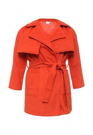 Пальто LOST INK CURVE. Цвет: оранжевый