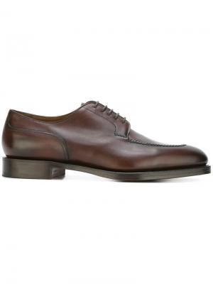 Туфли дерби Dover Edward Green. Цвет: коричневый