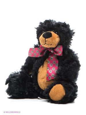 Мягкая игрушка Медведь Блейк MAXITOYS. Цвет: черный