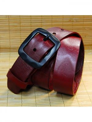 Ремень BB1. Цвет: темно-красный