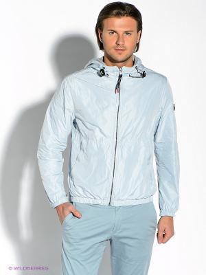 Куртка Strellson. Цвет: светло-голубой