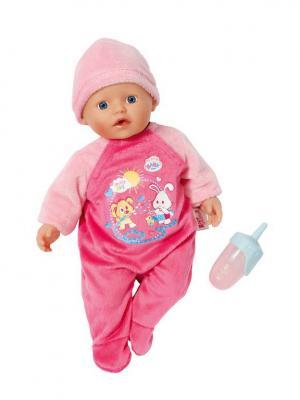 Игрушка my little BABY born Кукла быстросохнущая, 32 см, дисплей ZAPF. Цвет: розовый