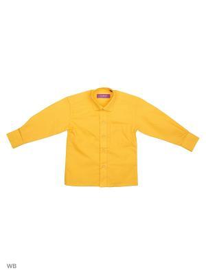 РУБАШКА ДЕТСКАЯ CARAT.. Цвет: желтый