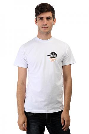 Футболка  319 White Anteater. Цвет: белый