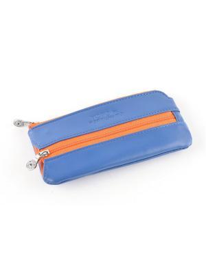 Ключница TOPO FORTUNATO. Цвет: синий, оранжевый