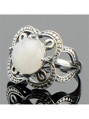 Кольцо Лейла Розовый кварц Колечки. Цвет: розовый