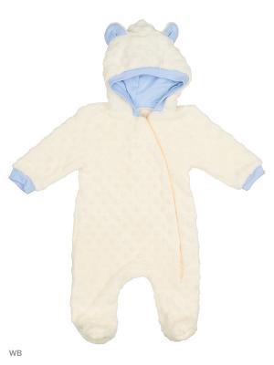 Комбинезон нательный для малыша Flip. Цвет: кремовый, голубой