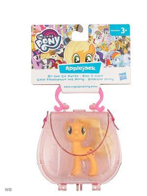 Пони в сумочке My Little Pony. Цвет: оранжевый