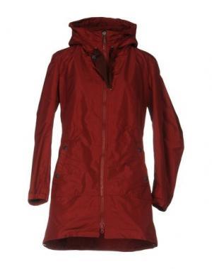 Куртка AQUARAMA. Цвет: красно-коричневый