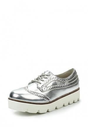 Ботинки Coolway. Цвет: серебряный