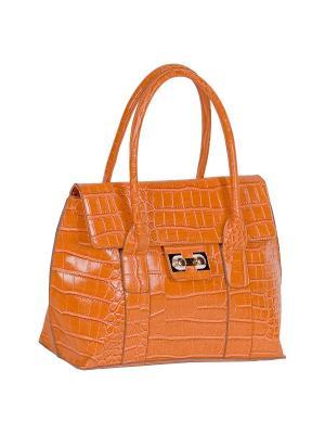 Сумка RENEE KLER. Цвет: оранжевый