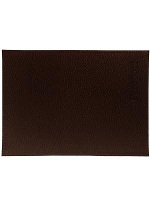 Обложка для паспорта черный кофе Tina Bolotina. Цвет: черный, серо-коричневый