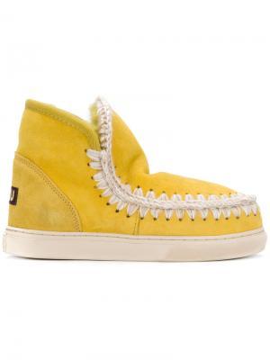 Mini Eskimo sneakers Mou. Цвет: жёлтый и оранжевый