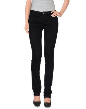Повседневные брюки PARIS HILTON. Цвет: черный