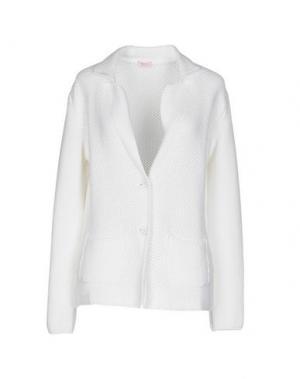 Пиджак ROSSOPURO. Цвет: белый