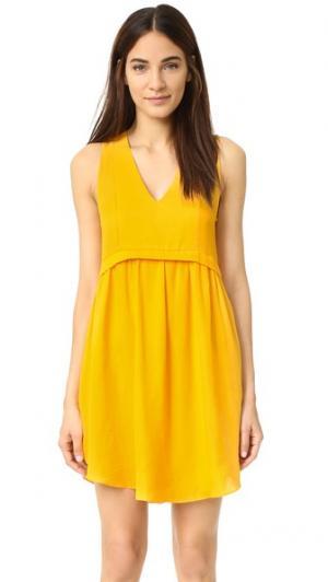 Платье Henriette dRA. Цвет: оранжевый