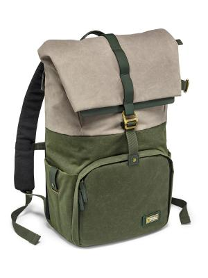 Рюкзак National Geographic. Цвет: зеленый, бежевый