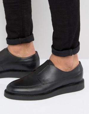 Zign Кожаные туфли. Цвет: черный
