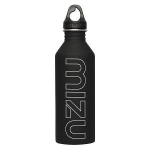 Бутылка для воды  M8 800ml Black/White Print Mizu. Цвет: черный