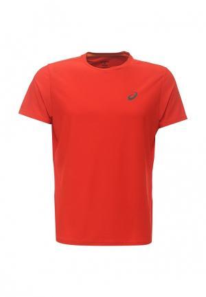 Футболка спортивная ASICS. Цвет: красный