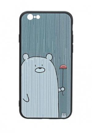 Чехол для iPhone Kawaii Factory. Цвет: серый