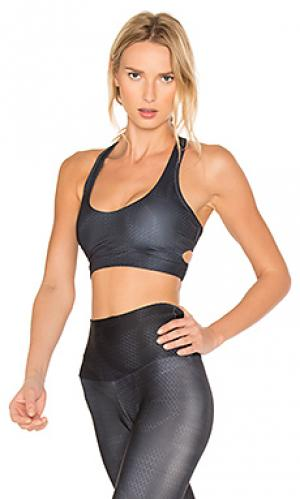 Wrap sports bra onzie. Цвет: синий